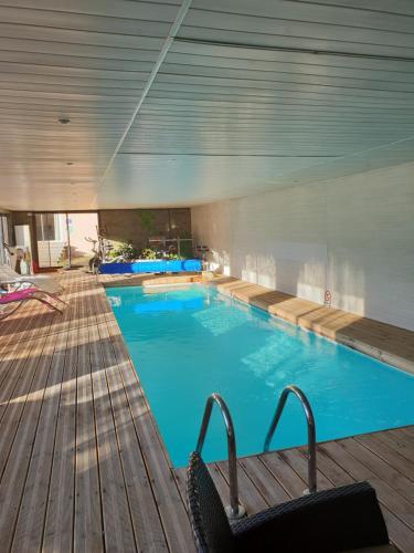 The swimming pool at or near Haras De Seranon
