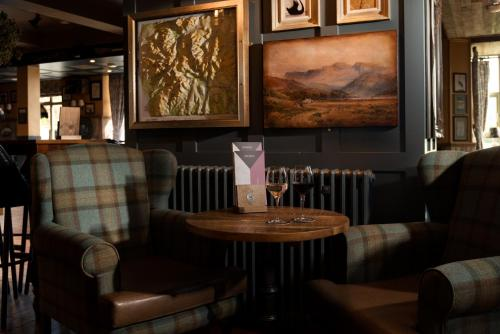 A seating area at The Temperance Inn