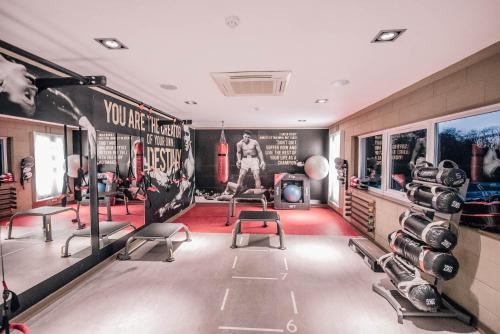 The fitness center and/or fitness facilities at Bowfield Hotel & Country Club