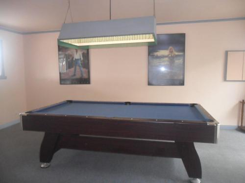 A pool table at Motel Dimboola