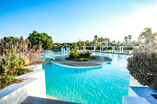 The swimming pool at or near Tenuta Moreno
