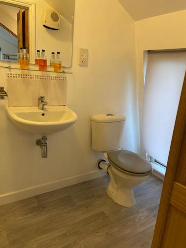 A bathroom at Woodland Lodge