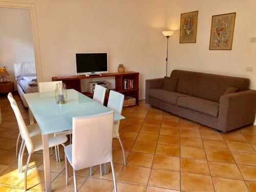 Area soggiorno di Residenza Ai Ronchi Lago Maggiore