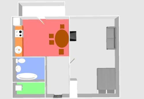 Планировка Apartments near ParkHouse