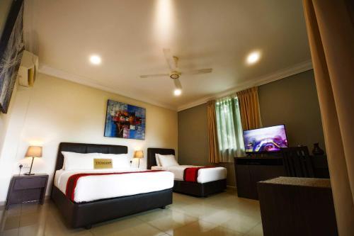 A seating area at Tioman Dive Resort