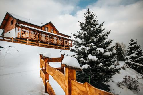 Obiekt Holickie Berdo zimą