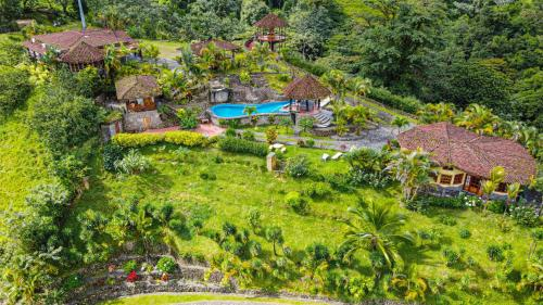 Pie in the Sky 1 Gorgeous Cottage with spectacular scenic views a vista de pájaro