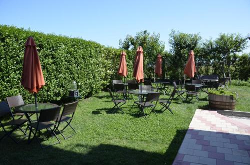 A garden outside Casa Eden