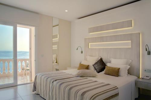 Cama o camas de una habitación en Vistabella