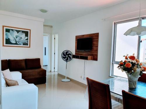 A seating area at Apartamento Modus Vivendi