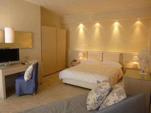 Cama o camas de una habitación en Tempo Di Mare