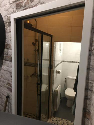 A bathroom at Chambre D'hôte Villa Maurice