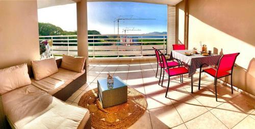 Appartement T2 vue mer à Fort de France