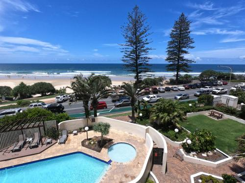 A view of the pool at Coolum Caprice or nearby