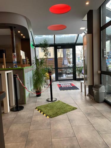 The lobby or reception area at Landmark Eco Hotel