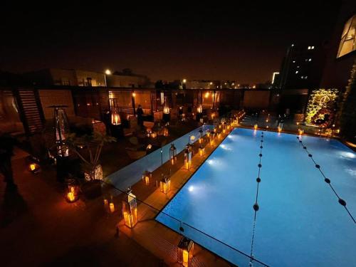 Uma vista da piscina em Ayan furnished units and Suites ou nos arredores