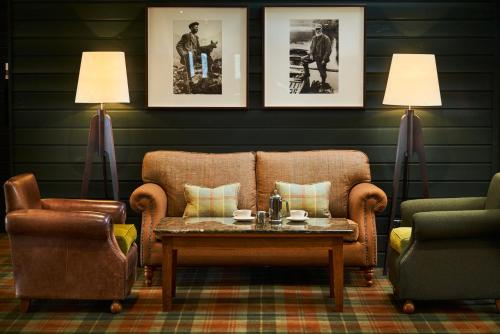 A seating area at Isle Of Mull Hotel and Spa