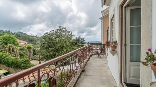 A balcony or terrace at Águamel Sintra, Boutique Guest House