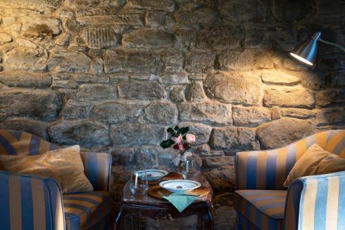 Area soggiorno di Castello di Volpaia