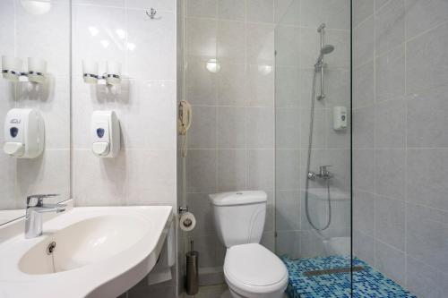 Ванная комната в Отель Регина на Петербургской