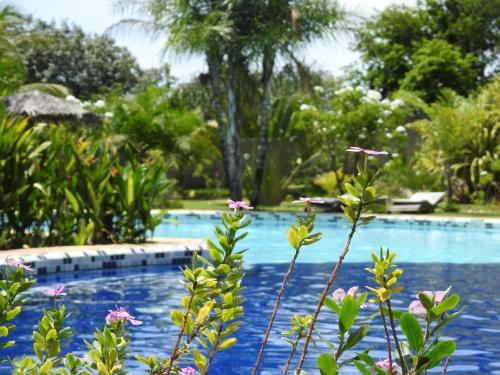 Het zwembad bij of vlak bij Pousada Morada dos Ventos