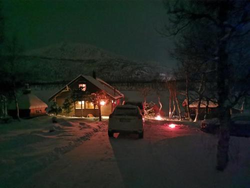 Foss-Stua during the winter