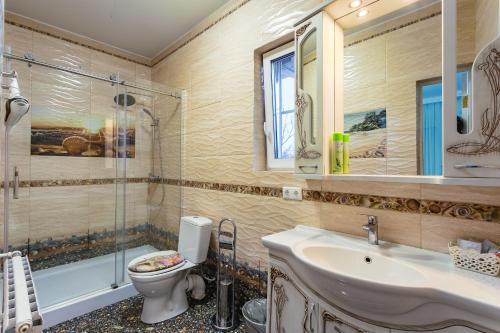 Ванная комната в Гостевой Дом Востряково