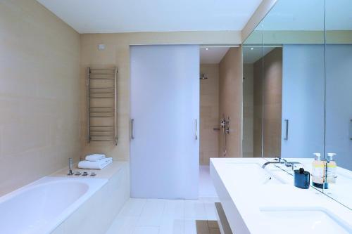 A bathroom at Malmaison Cheltenham