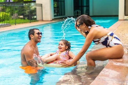 The swimming pool at or near Mercure Sao Paulo Ibirapuera Privilege