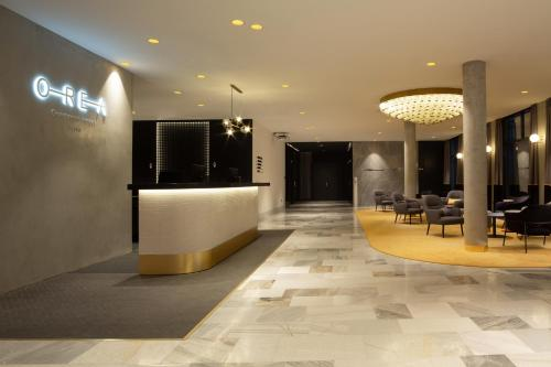El vestíbulo o zona de recepción de OREA Congress Hotel Brno