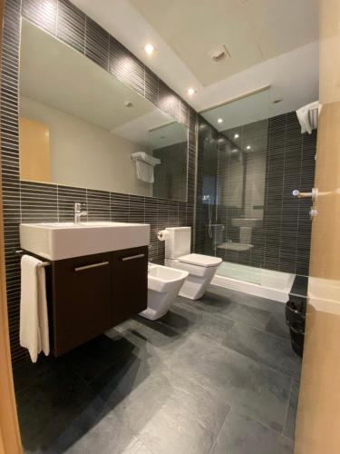 Un baño de Apartamentos Dream Park