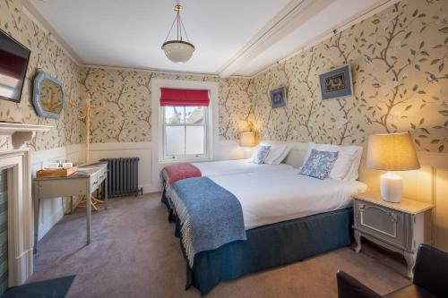 A bed or beds in a room at One Holyrood
