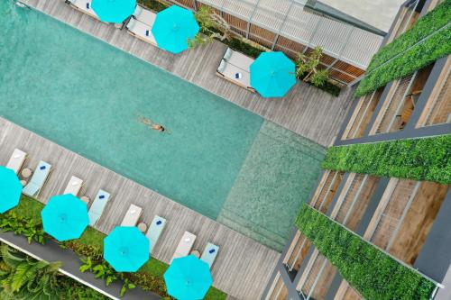 A view of the pool at Citadines Berawa Beach Bali or nearby