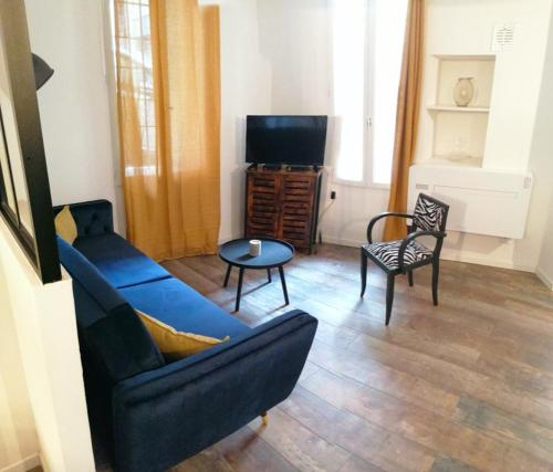 A seating area at Modern flat Panier district close Old Port AC