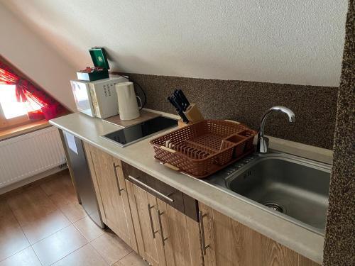 Kuchnia lub aneks kuchenny w obiekcie Murań