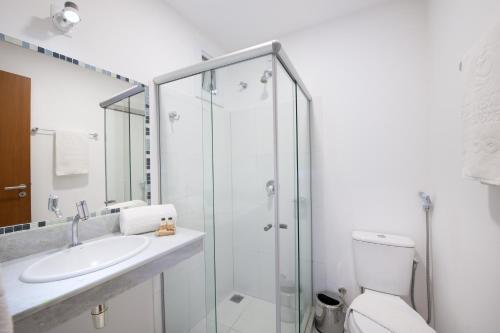 Um banheiro em Pousada Bahia Bacana