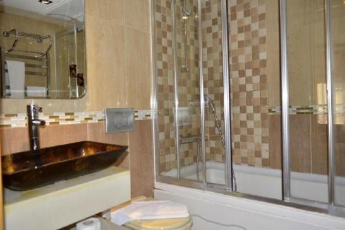 Ванная комната в Galata Palace Hotel