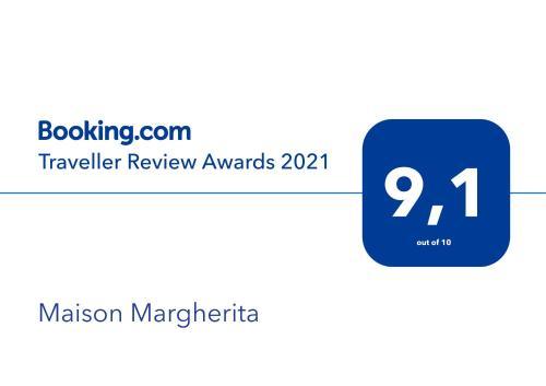 Certificato, attestato, insegna o altro documento esposto da Maison Margherita