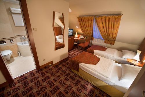 Кровать или кровати в номере Old Town Bed & Breakfast