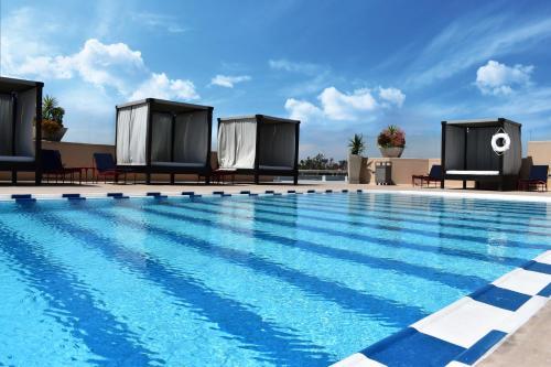 The swimming pool at or near Grand Hotel Tijuana