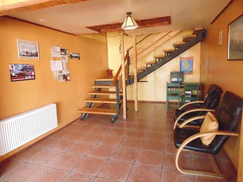 El vestíbulo o zona de recepción de Nikos II Adventure