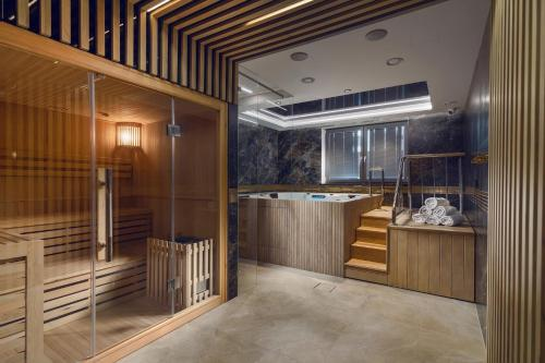Spa and/or other wellness facilities at Love Sopot Residence