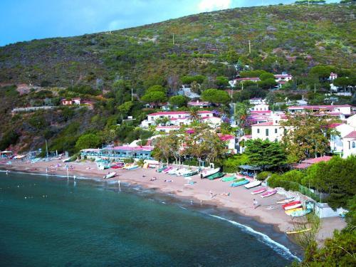 A bird's-eye view of Residential Hotel Villaggio Innamorata