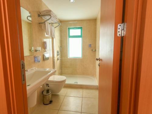 Een badkamer bij Afytos Bodrum