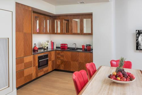 A kitchen or kitchenette at Faena Hotel Miami Beach