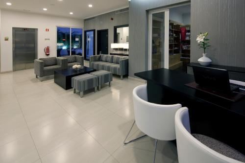 The lounge or bar area at White Waters Hotel
