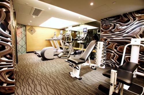 Gimnasio o instalaciones de fitness de The Luxe Manor