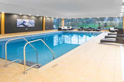 The swimming pool at or near Crowne Plaza Plymouth, an IHG Hotel