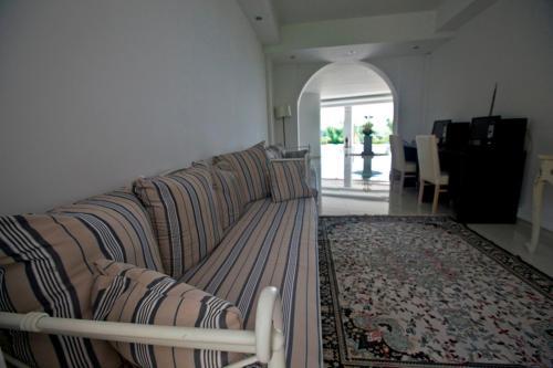 Χώρος καθιστικού στο Sivila Hotel