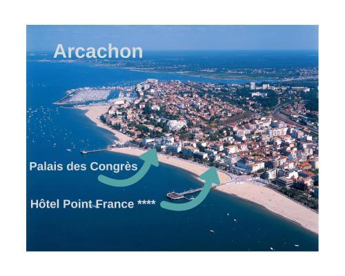 Vue panoramique sur l'établissement Hôtel Point France
